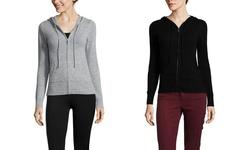 Gabriella Rossi Women's Cashmere Hoodie - Black - Size: Small