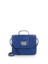 Bcbgeneration Women's Faux Leather Mini Satchel - Blue