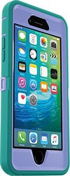 iPhone 6/6s Otterbox Defender Case: Periwinkle Purple & Teal