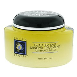 Swisa Beauty Dead Sea Salt Mineral Treatment, For Hands & Feet, 8-Ounce