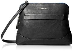 London Fog Preston Crossbody Handbag - Black
