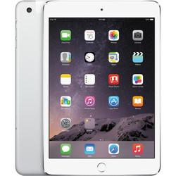 """Apple iPad Mini 3 7.9"""" Tablet 16GB Wi-Fi + Cellular - Silver (MH3F2LL/A)"""