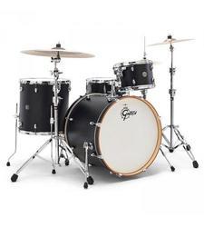 "Gretsch Drums Catalina Club 22"" Bass Drum - Flat Black (CT1-1822B-FB)"