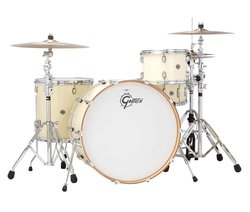"Gretsch Drums Catalina Club 24"" Bass Drum - White Chocolate (CT1-1424B-WC)"