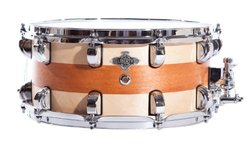 "Liberty Drums Inlay Series 14"" Snare Drum - Natural (LD-BIR-1465-IN03)"