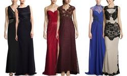 Alberto Makali Women's Sleeveless illusion Dress - Nude/Black - Size: M