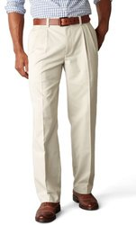 Dockers Men's Easy Khaki D3 Classic Fit Pleated Pant - Marble - Size: 38x29