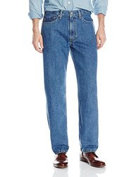 Levi's Men's 550 Relaxed Fit Jean - Medium Stonewash - Size: 34x30
