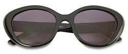 Laura Ashley Women's Classic Cat Eye Sunglasses - Black