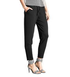 Hue Chill Women's Rayon Jersey Skimmer Pant - Black - Size: S