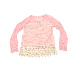 Beautees Girl's 2 Pcs Lace Top & Necklace Set - Mint - Size: 7-16 Month