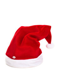 Wembley Men's Dancing Santa Hat - Red/White