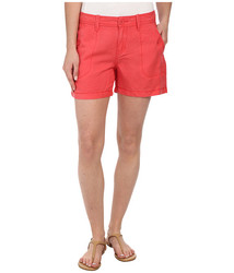 Calvin Klein Women's Linen Shorts - Wildflower - Size: 30