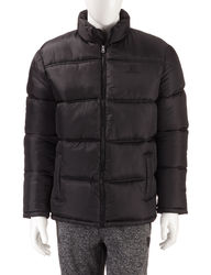Southpole Men's Puffer Jacket - Black - Size: XL