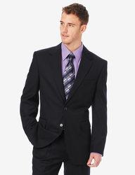 Arrow Men's Solid Suit Jacket - Black - Size: 46R