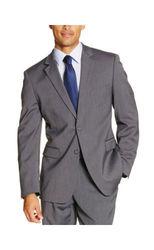 Ivy Crew V922004 Men's Modern Fit Blazer - Grey - Size: 48 R