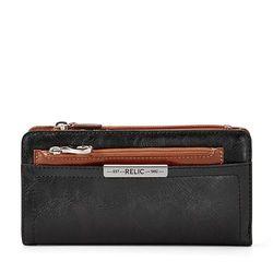 Relic Women's Caraway Checkbook Wallet - Black - Size: One