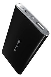 Polaroid External Battery Pack for All Smartphones - Retail Packaging - Black