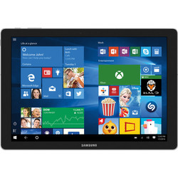 "Samsung TabPro S 12"" Tablet 128GB Windows 10 Home (SM-W700NZKAXAR)"