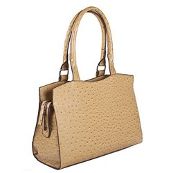 Bueno Tegan Vegan Leather Satchel Handbag - Sand