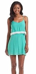 Trixxi Womens/Juniors Jade Popover Lace Dress - Size: Medium