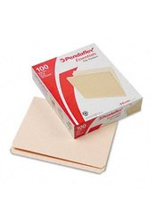 File Folders Straight Cut Top Tab Letter - Manila - 100-Box
