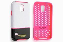 Isaac Mizrahi Color Block Case for Samsung Galaxy S5 - White/Black