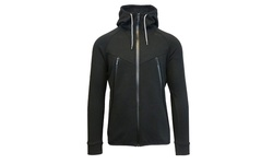 Galaxy By Harvic Men's Tech Fleece Hoodie - Black - Size: XL