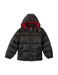 Vertical 9 Boys Promo Puffer Jacket - Black - Size: 8-20 -14-16