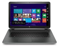 "HP Pavilion 17-f230nr 17.3"" Notebook 2.16Ghz 4GB RAM 750GB HDD Win 8 - Ash"