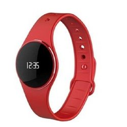 MYKRONOZ ZeCircle Activity Tracker Watch with Bluetooth(R) 4.0BLE Red KRZECIRCLRD