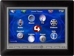 "Control4 C4-TSWM7-EG-B POE/WiFi Wall Mount 7"" Touch Screen- Black"