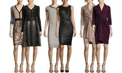 Byron Lars Women's Cap Sleeve Dress - Mascara/Ivory - Size: 10