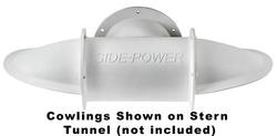 Side-Power Stern Thruster Tunnel Cowl - Diameter: 7""