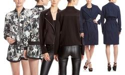 Shades of Grey Sheer Moto Jacket - Black - Size: XSmall