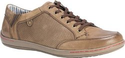 Muk Luks Men's Brodi Shoes Fashion Sneaker - Khaki - Size: 12 M