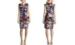 Escada Women's Dessana Dress Fantasy - Multi - Size: 38