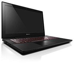 "Lenovo Y50 TOUCH Laptop Computer - 59421835 - Black - Core i7-4710HQ / 16GB RAM / 15.6"" FHD Multi-Touch 1920x1080 Display / NVidia GeForce 860M 4GB / 1TB HDD + 8GB SSHD / Dual Band Wireless AC / Windows 8.1"