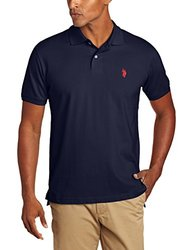 U.S. Polo Assn. Men's Solid Polo W/ Small Pony - Classic Navy - Size: XXL