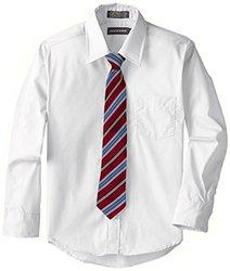 Dockers Big Boy's Shirt & Tie Set - White - Size: 12