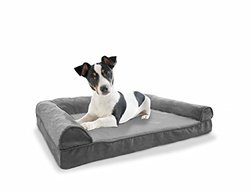 Furhaven Plush Sofa Orthopedic Pet Bed -