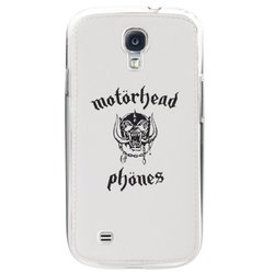 Motorheadphones Undercover Case for Samsung Galaxy S4 - White(89846)
