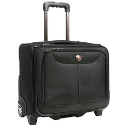 Pacific Coast Rolling Laptop Business Briefcase, Black Pacific Coast Rolling Laptop Business Briefcase, Black