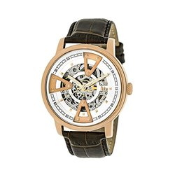 Reign Belfour Men's Automatic Skeleton Watch - Rose Gold
