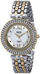 Women s Swiss Quartz Diamond Markers Alloy Bracelet Watch: Gold