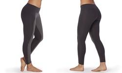 Balance by Marika Women's Novelty Formfitting Leggings - Black - Size: X-L