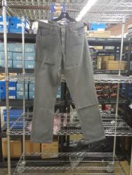 Pelican Coast Company Montauk Canvas Pants - Grey - Size: 34x34