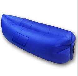 Etel Aeronana Inflatable Lounger - Navy - Size: One