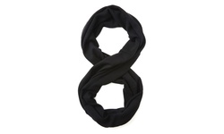 Forte Cashmere Infinity Scarf - Charcoal