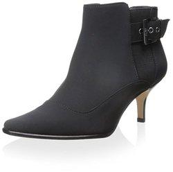 Donald J Pliner Women's Longa Ankle Boot - Black - Size: 5.5